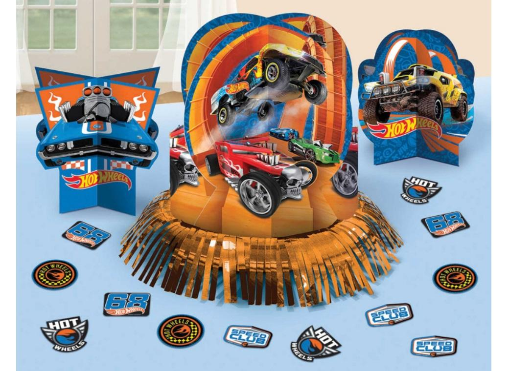 Hot Wheels Table Decorating Kit