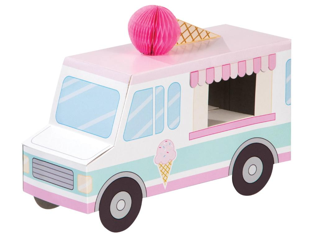 Ice Cream Party 3D Van Centrepiece