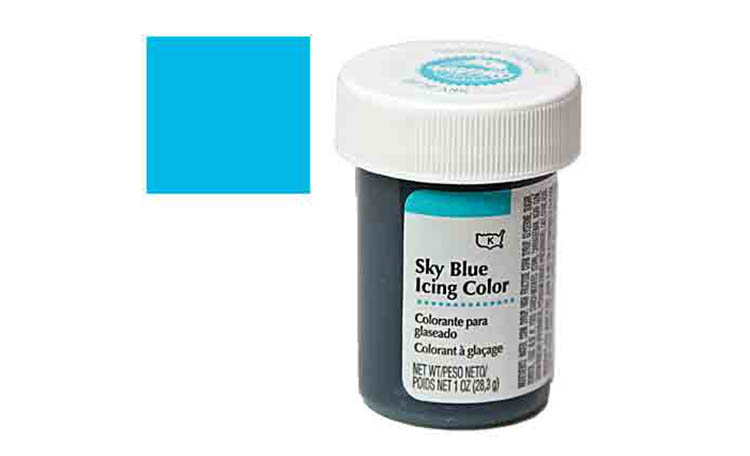 Wilton Sky Blue Icing Colour