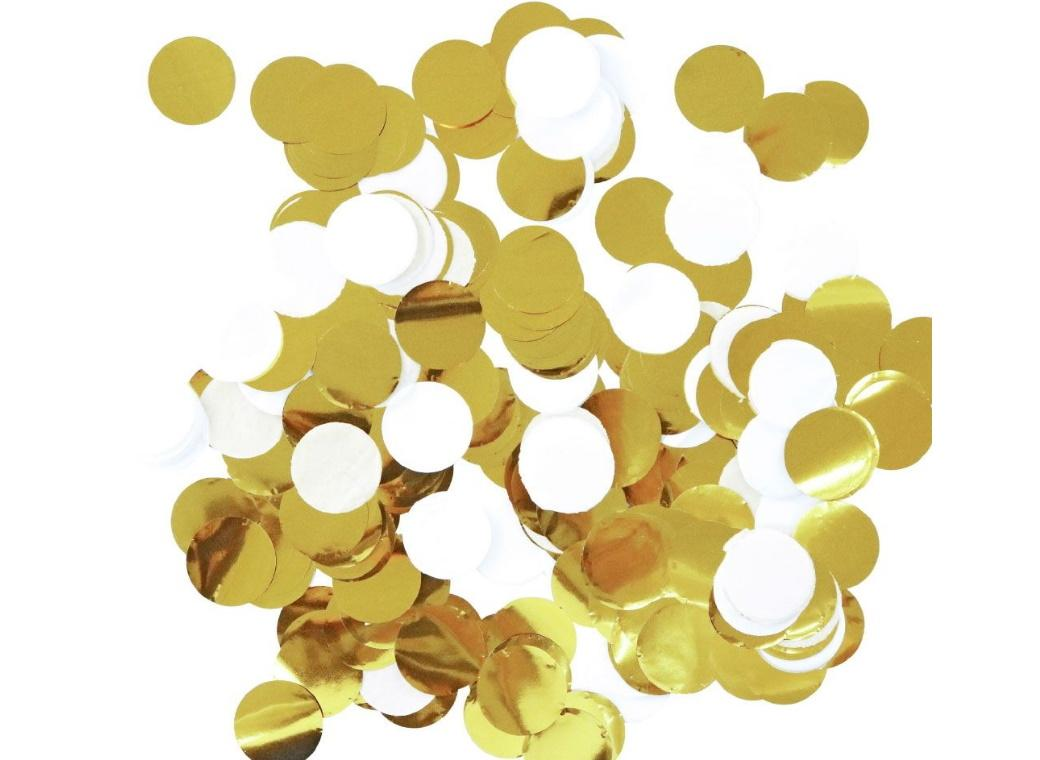 Illume Confetti Gold & White