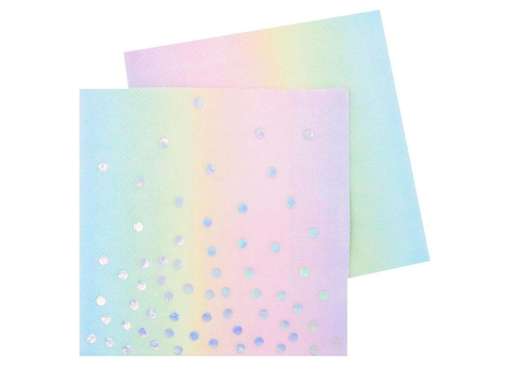 Illume Iridescent Beverage Napkins 20pk