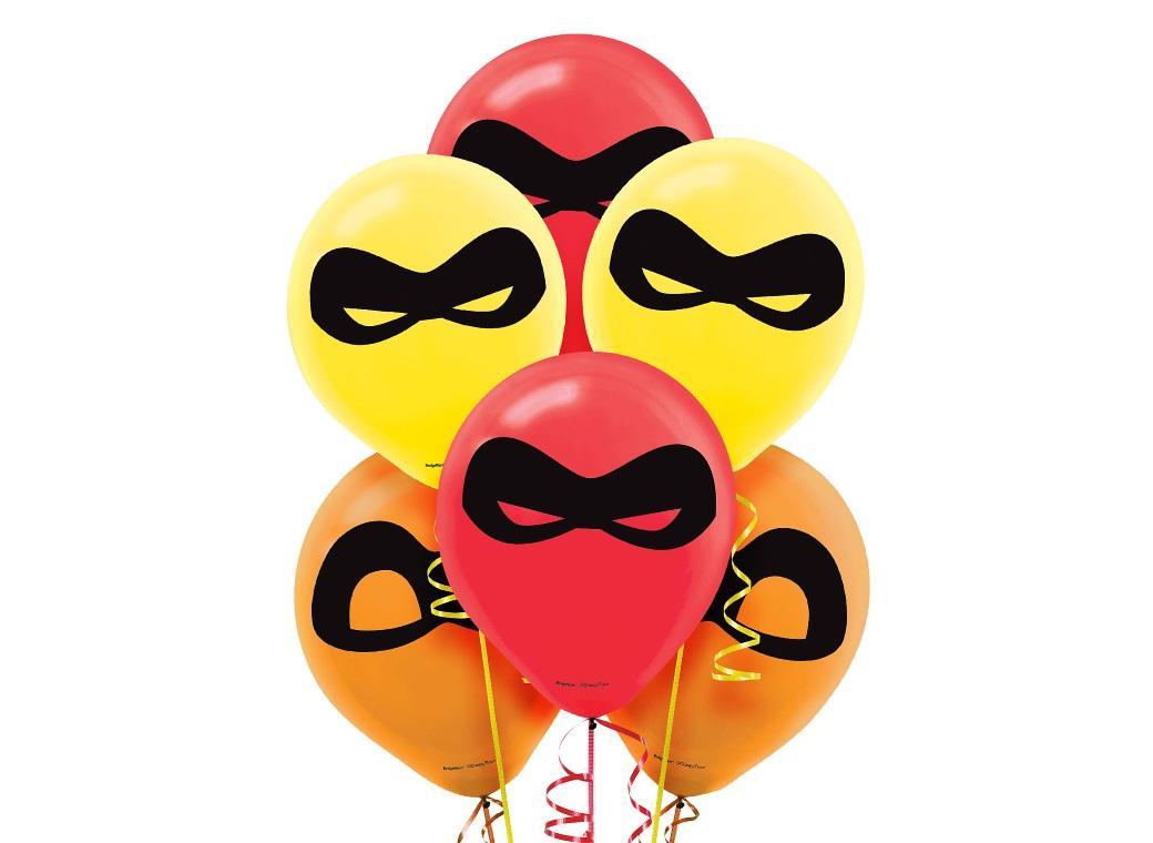 Incredibles 2 Balloons 6pk