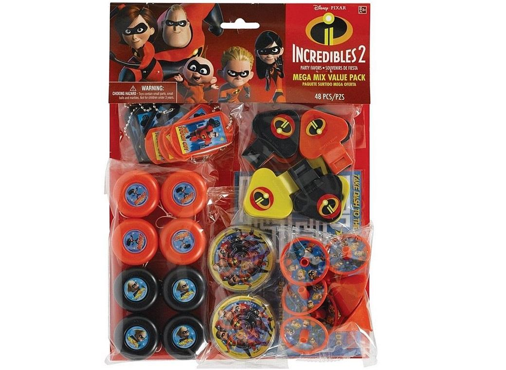 Incredibles 2 Mega 48pce Favour Pack
