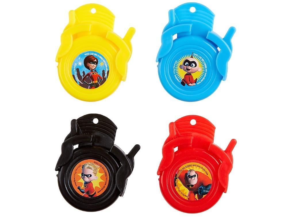 Incredibles 2 Mini Disc Shooters 12pk
