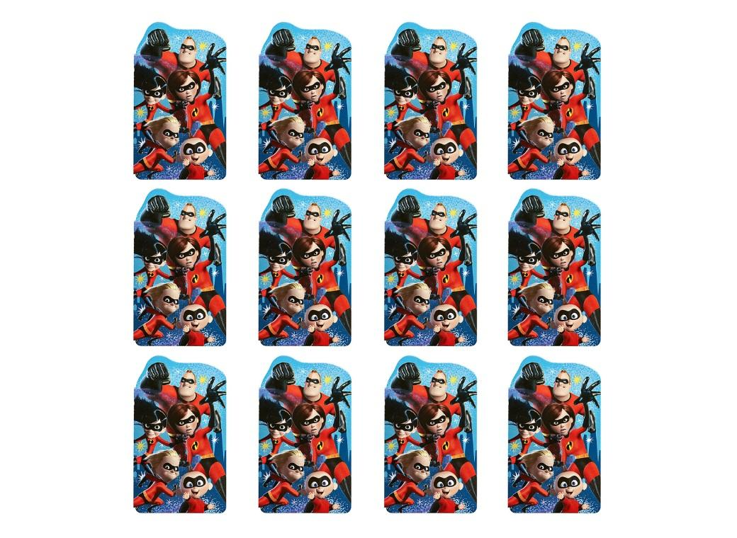 Incredibles 2 Notepads 12pk