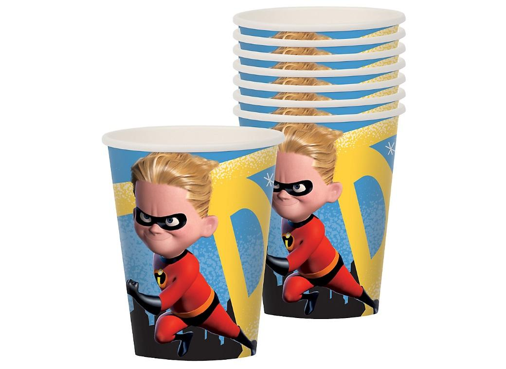 Incredibles 2 Cups 8pk
