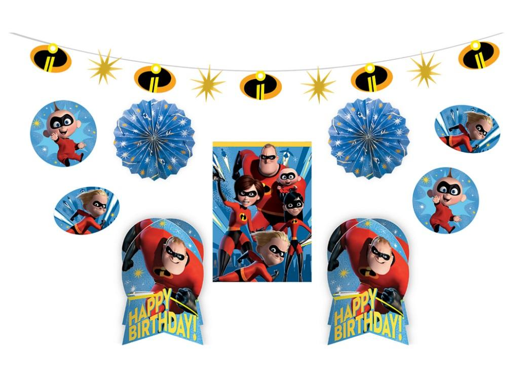 Incredibles 2 Room Decorating Kit