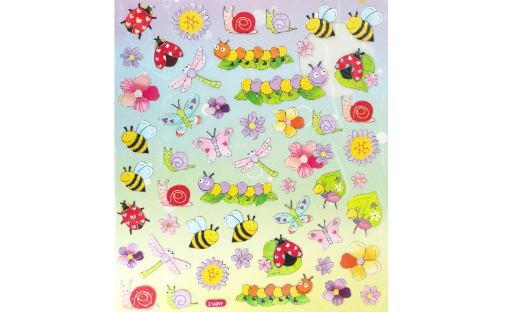 Stickers - Bees, Bugs & Butterflies