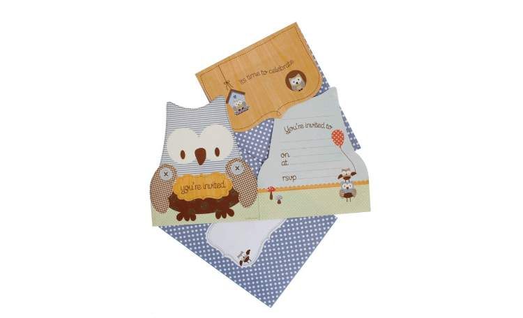 hiPP Owl Invitations – Pack of 25
