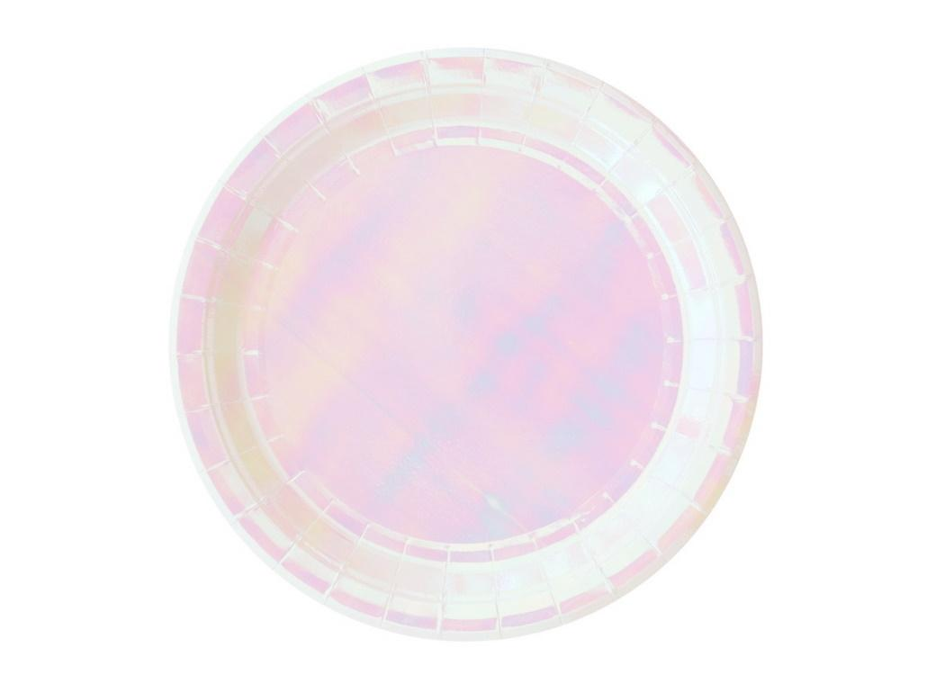 Iridescent Lunch Plates 8pk