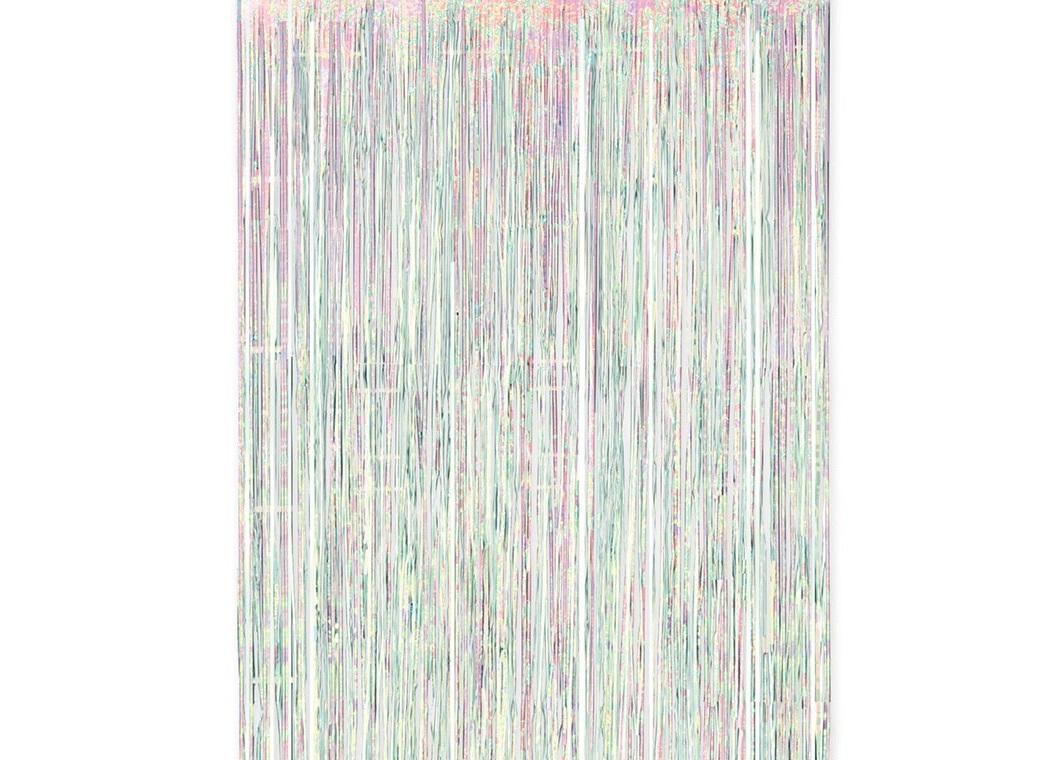 Irridescent Fringe Curtain