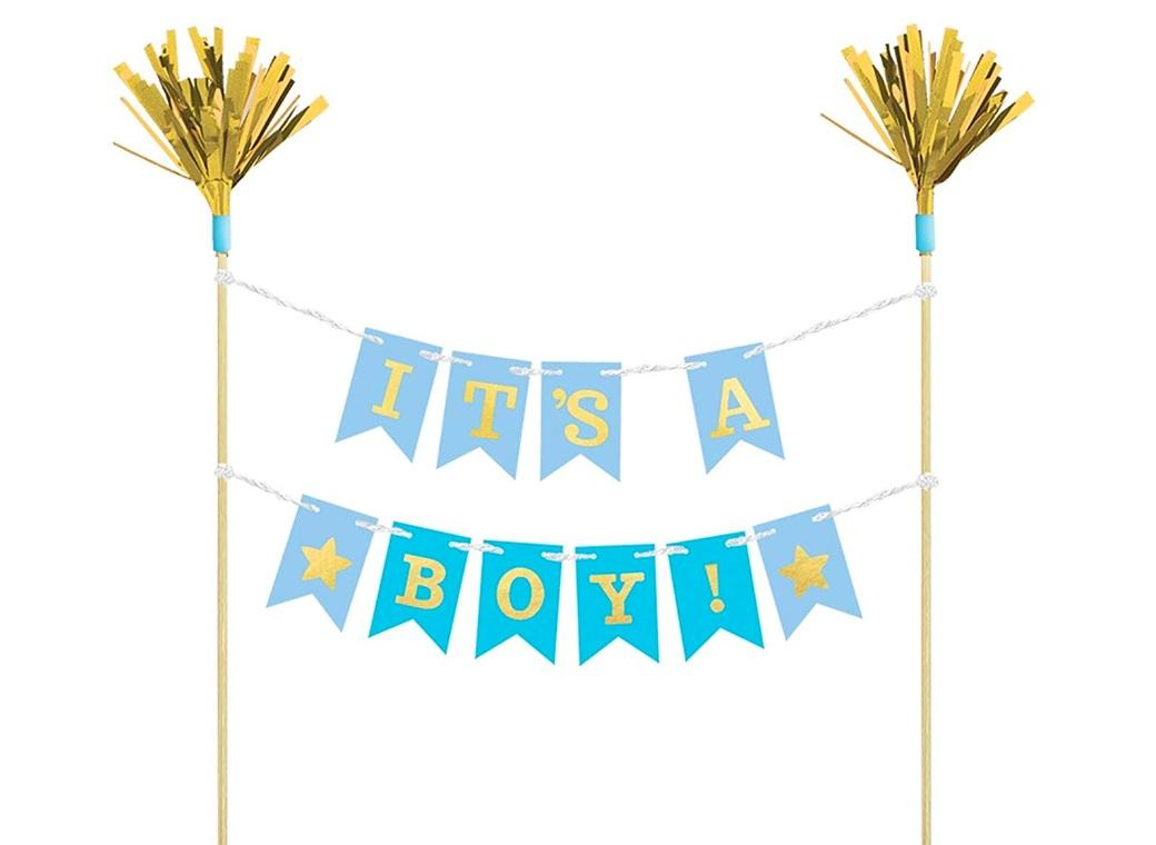It's A Boy Cake Bunting