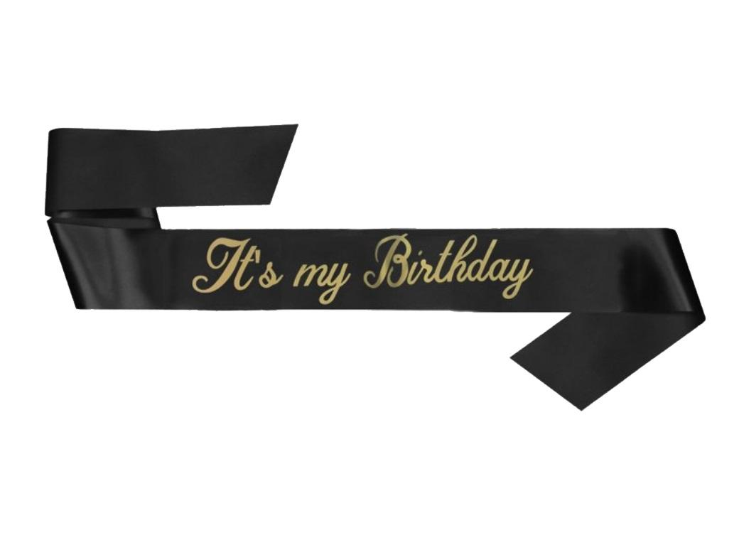 It's My Birthday Sash
