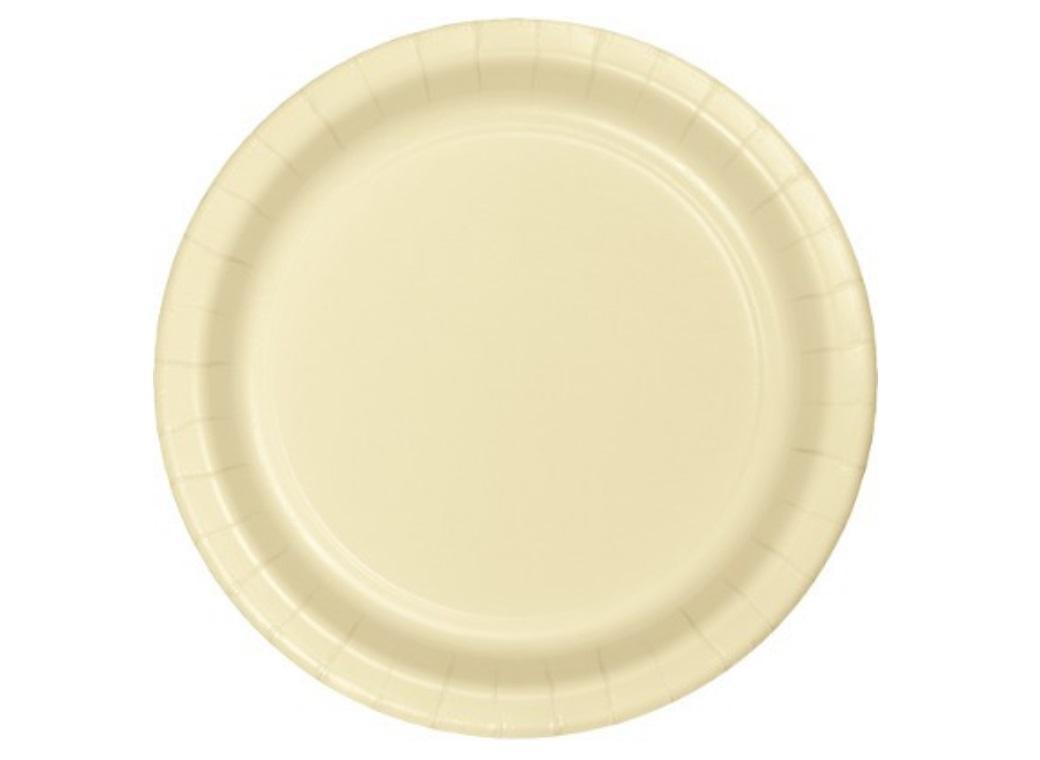 Dinner Plates - Ivory - 12pk
