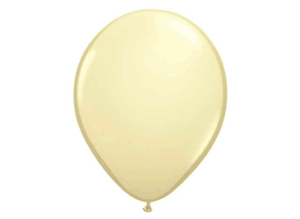 Ivory Silk Balloon - Single