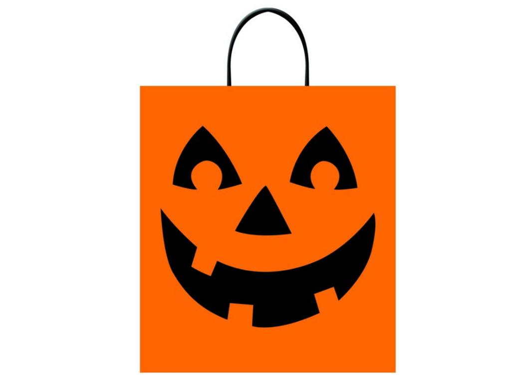 Jack-O-Lantern Treat Bag