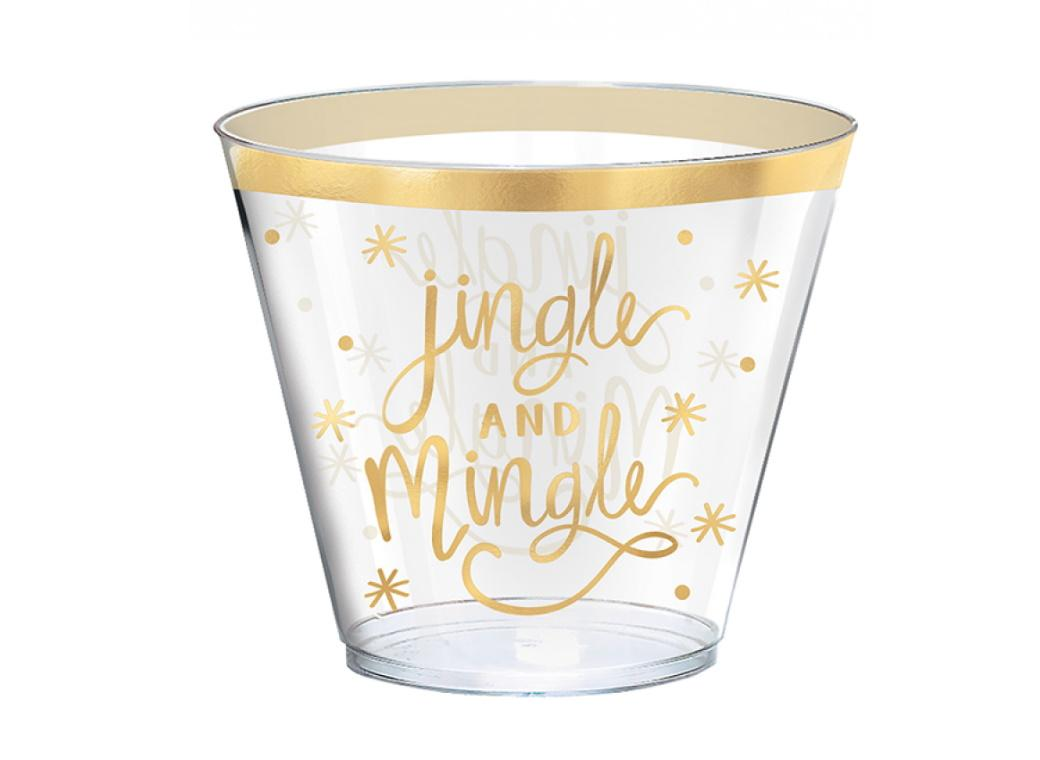 Jingle & Mingle Plastic Tumblers 30pk