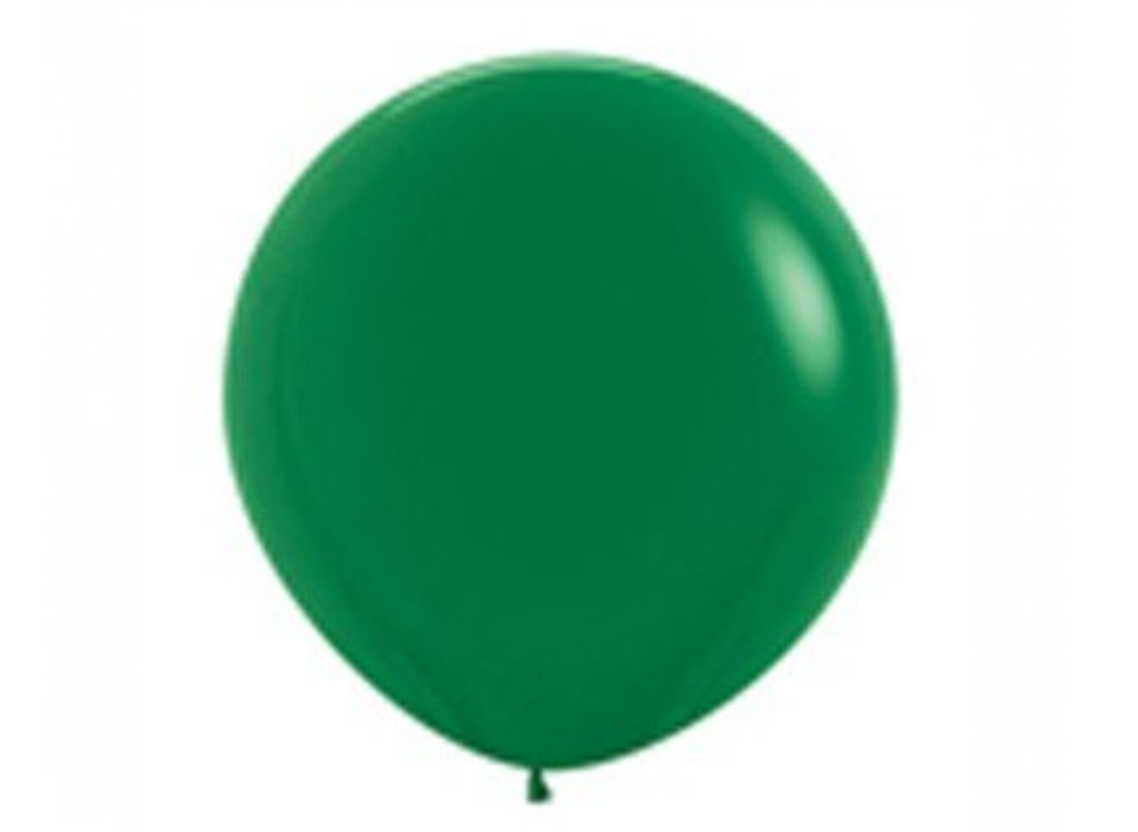 Jumbo Balloon - Forest Green