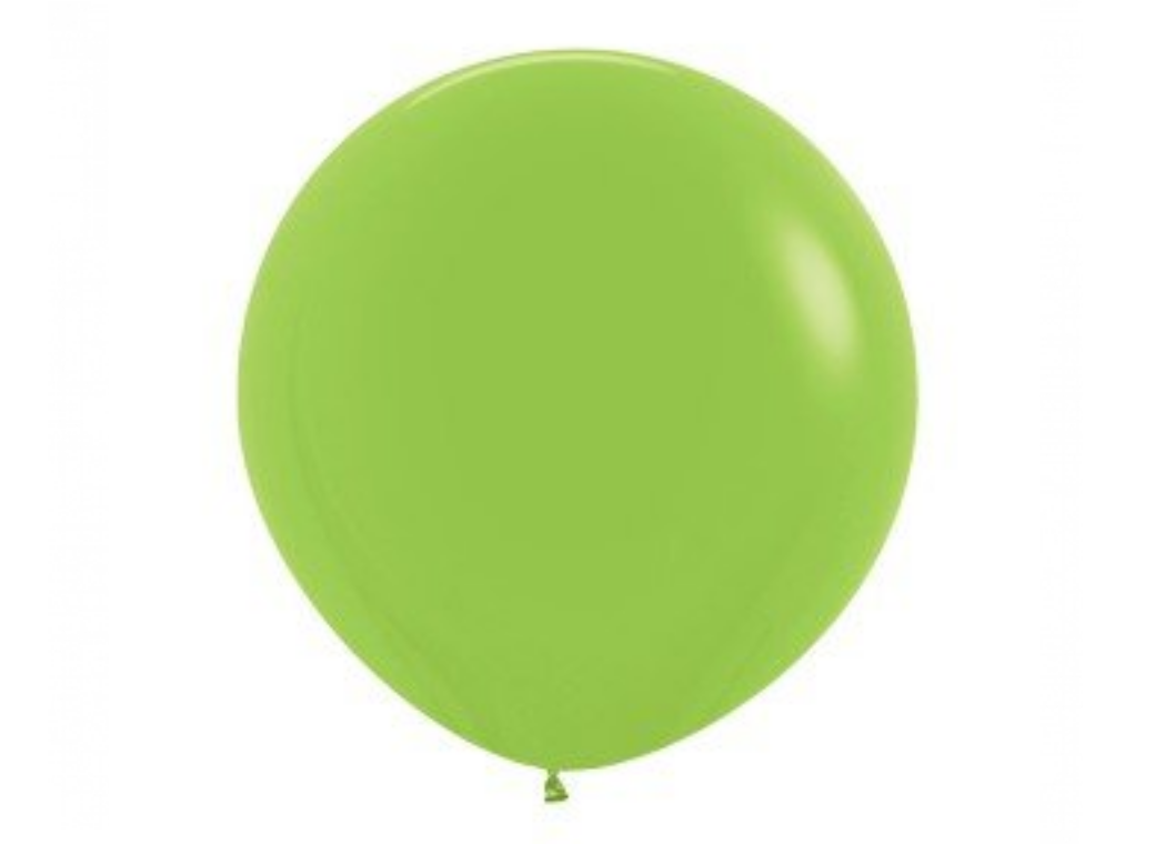 Jumbo Balloon - Lime Green