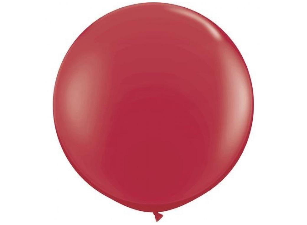 Jumbo Balloon - Maroon