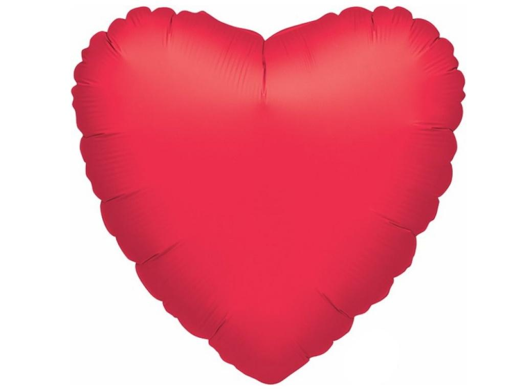 Jumbo Heart Shaped Foil Balloon