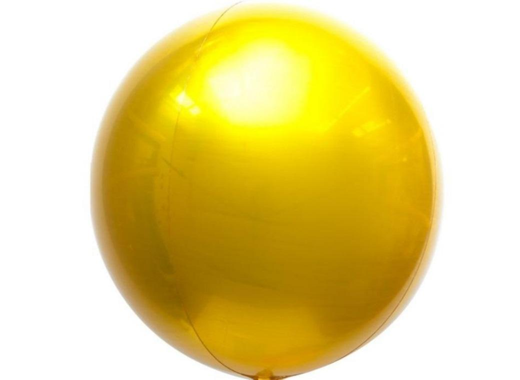 Jumbo Orbz Balloon - Gold
