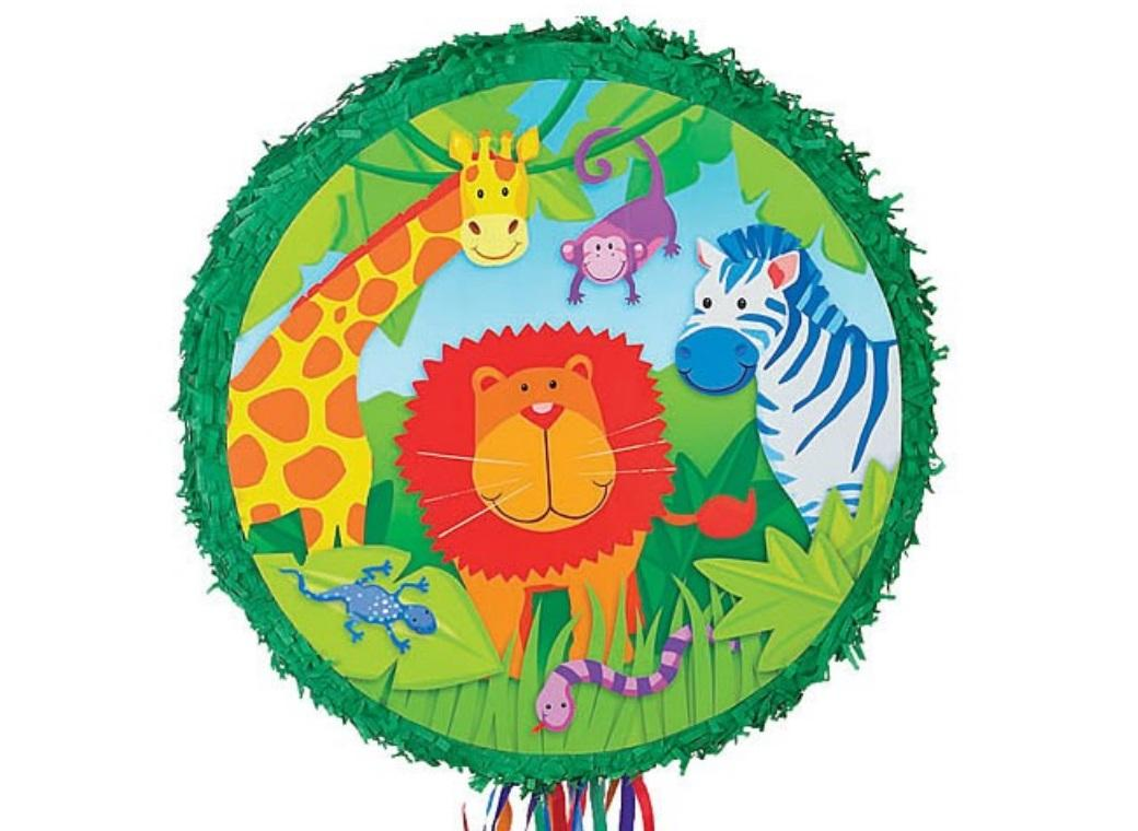 Jungle Animals Pinata