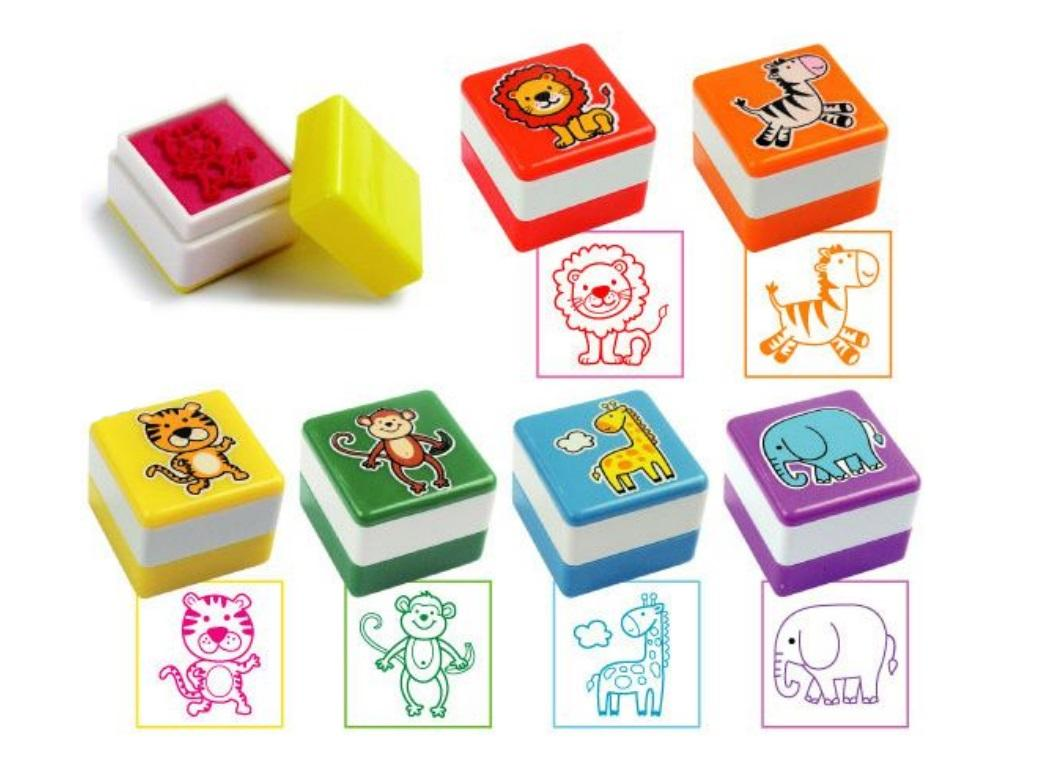 Jungle Animals Self Inking Stamps
