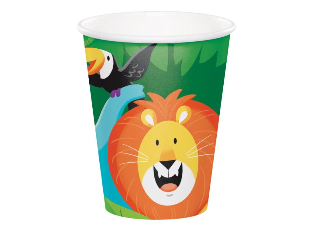 Jungle Safari Cups 8pk