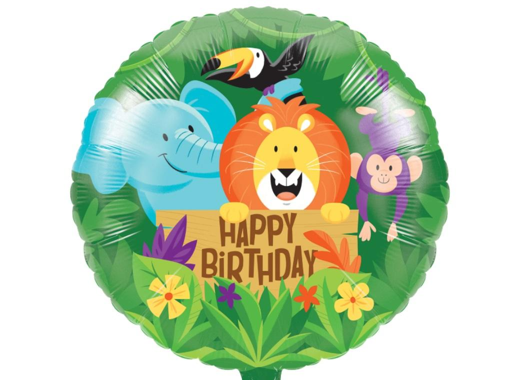 Jungle Safari Foil Balloon