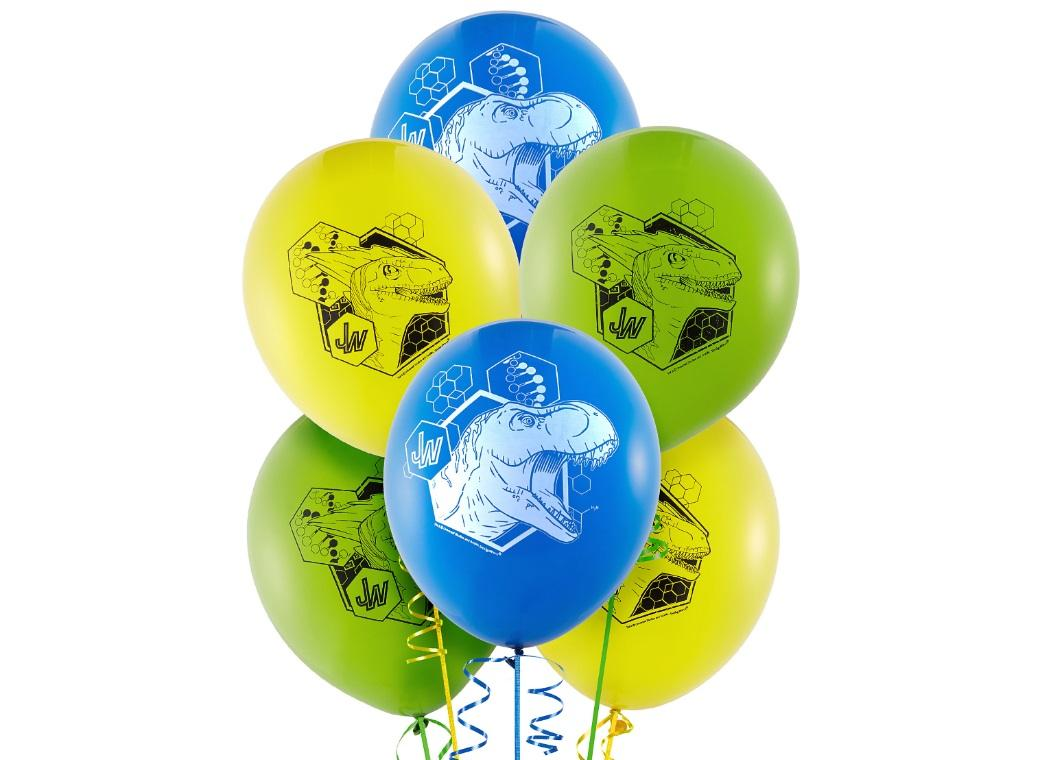 Jurassic World Balloons 6pk