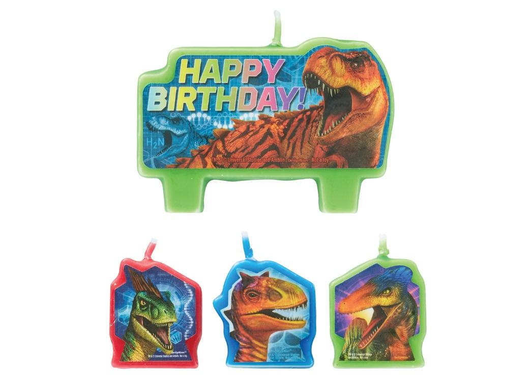 Jurassic World Candle Set