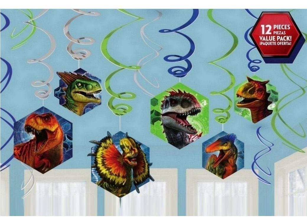 Jurassic World Hanging Swirls