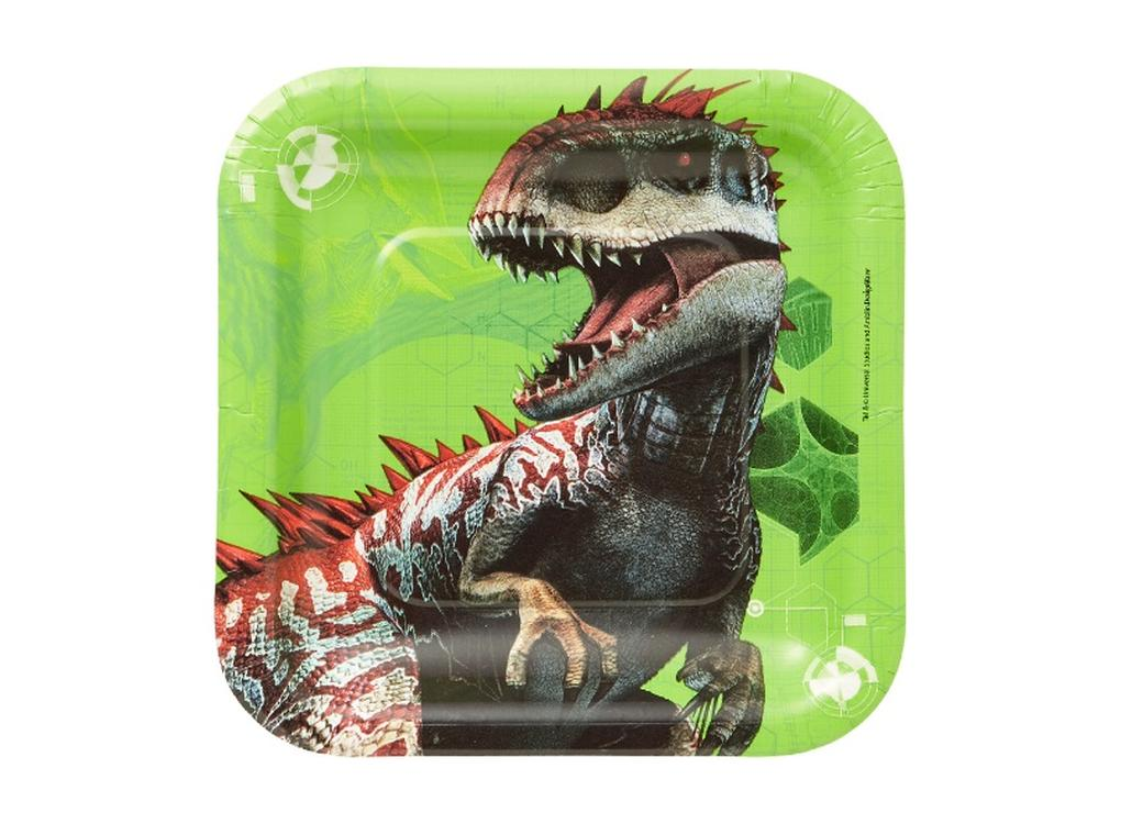 Jurassic World Lunch Plates 8pk