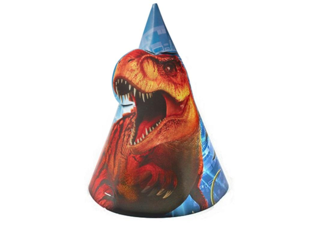 Jurassic World Party Hats 8pk