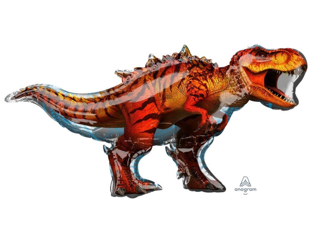 Jurassic World T-Rex Shape Foil Balloon