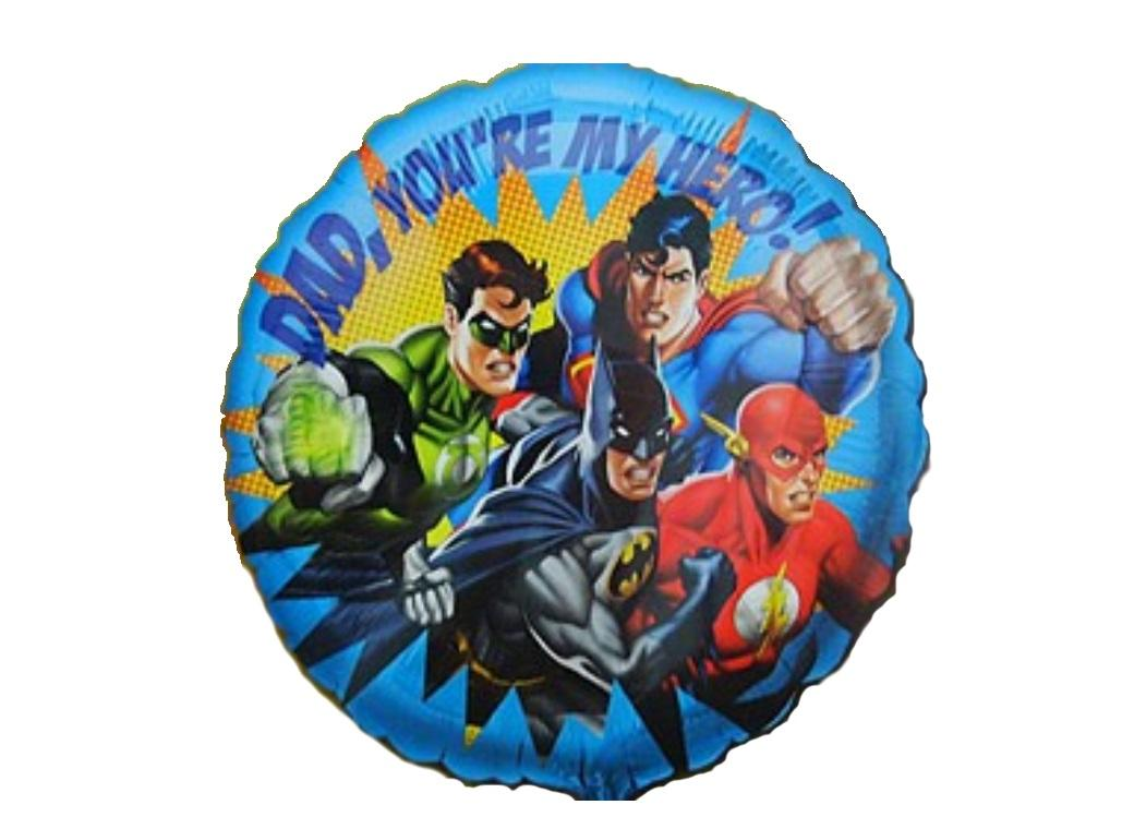 Justice League Foil Balloon - Hero Dad