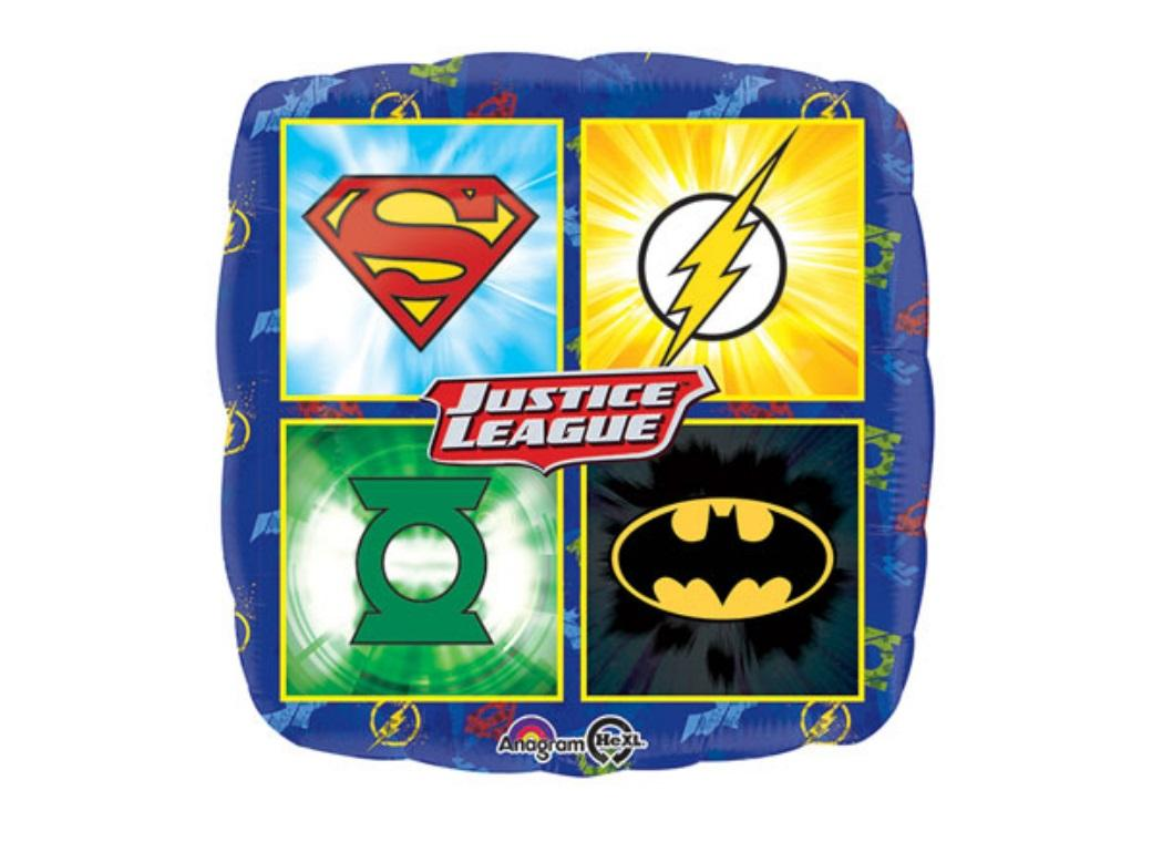 Justice League Foil Balloon - Symbols