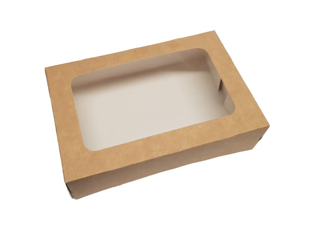 Kraft Cookie Box - Small Rectangle