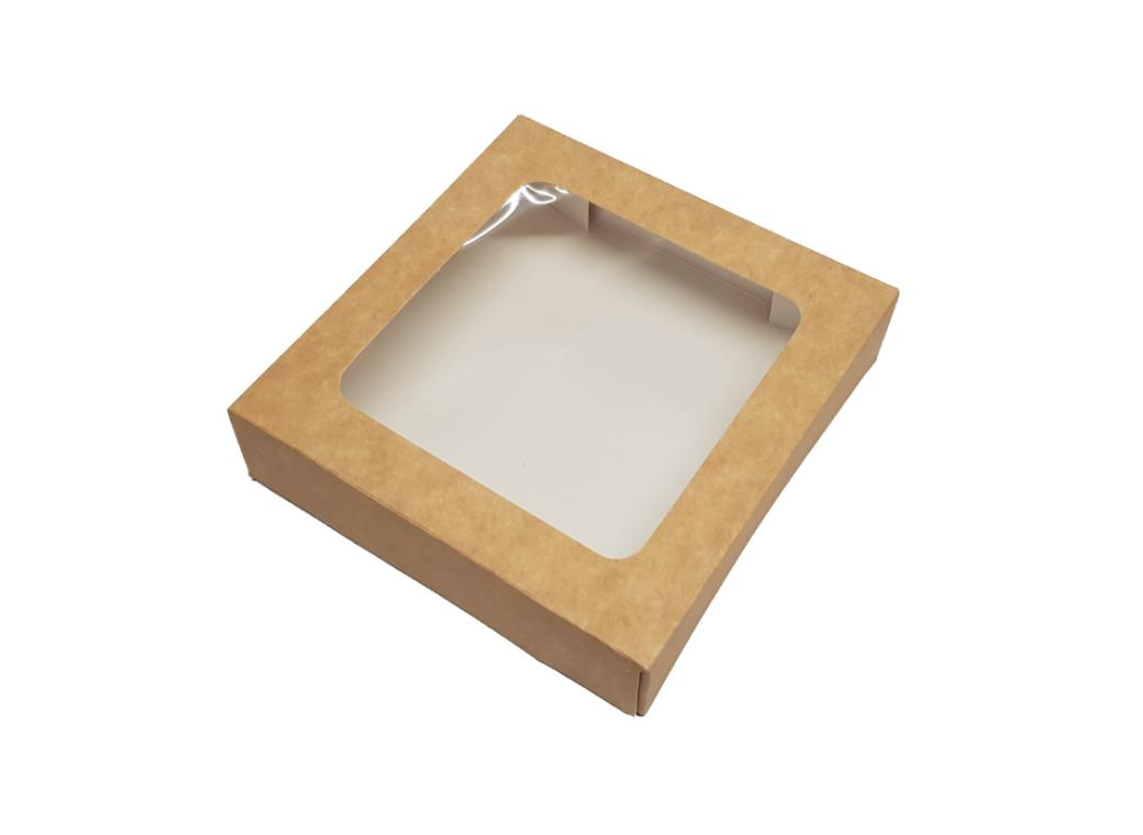 Kraft Cookie Box - Small Square