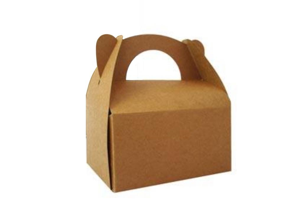 Kraft Gable Favour Box - 2pce
