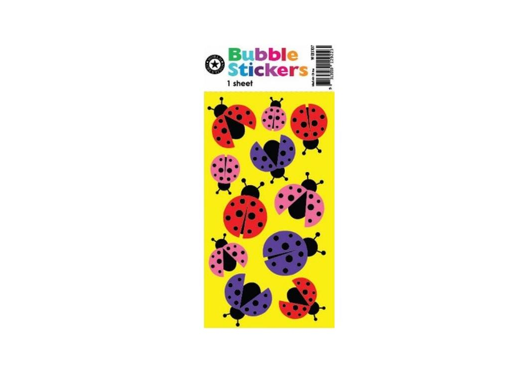 Stickers - Bubble Ladybirds