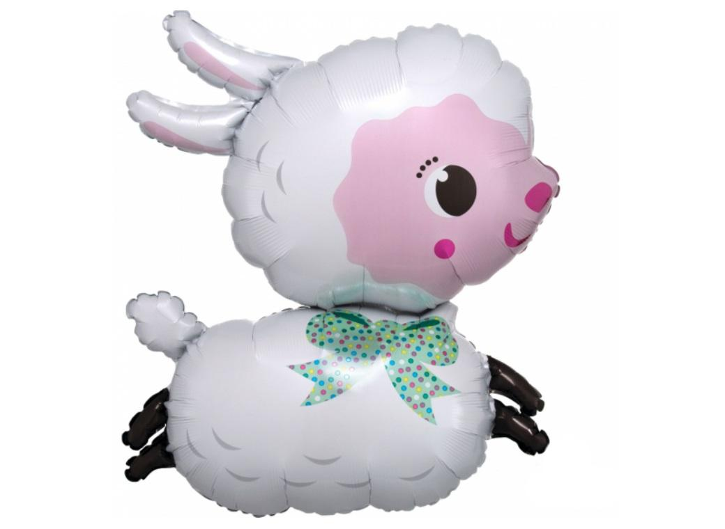 Lamby SuperShape Foil Balloon
