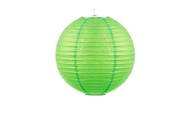 Green Paper Lantern - 30cm