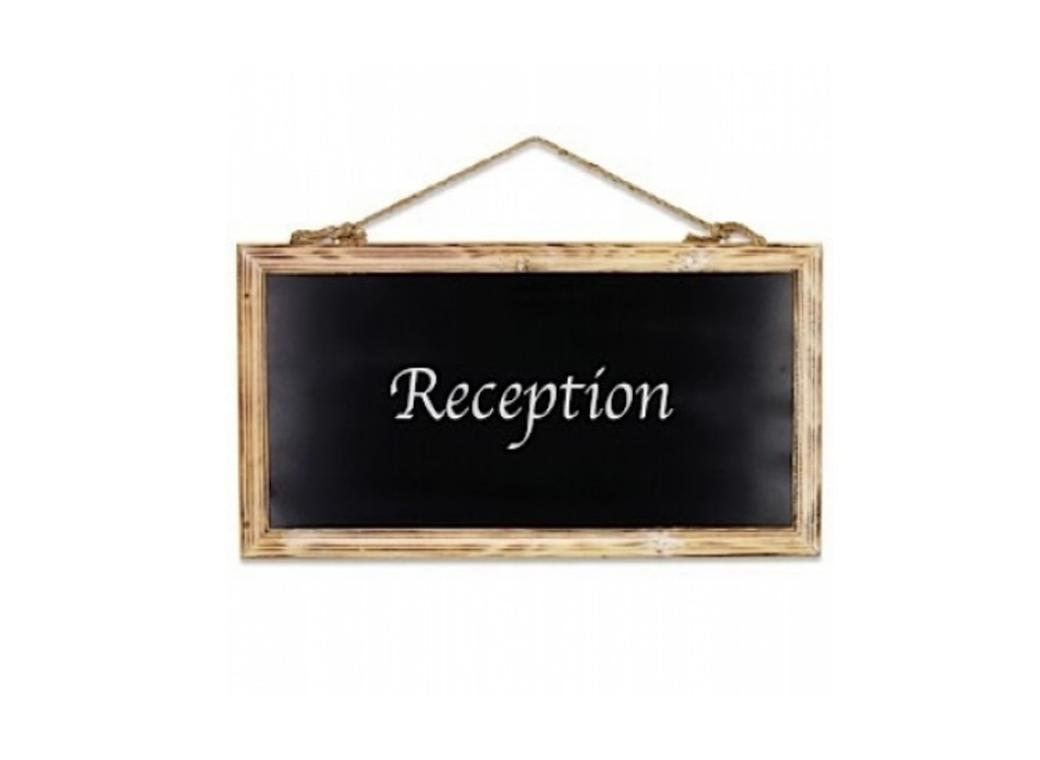 Hanging Chalk Board - Large