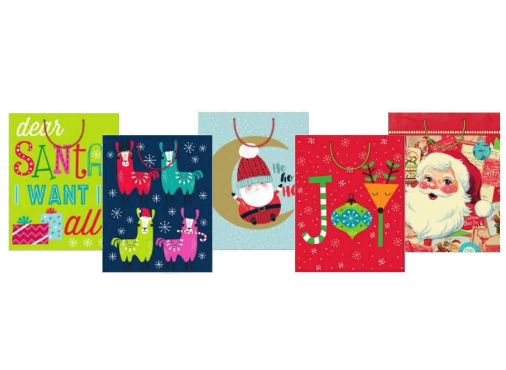 Large Christmas Gift Bag - Assorted Designs