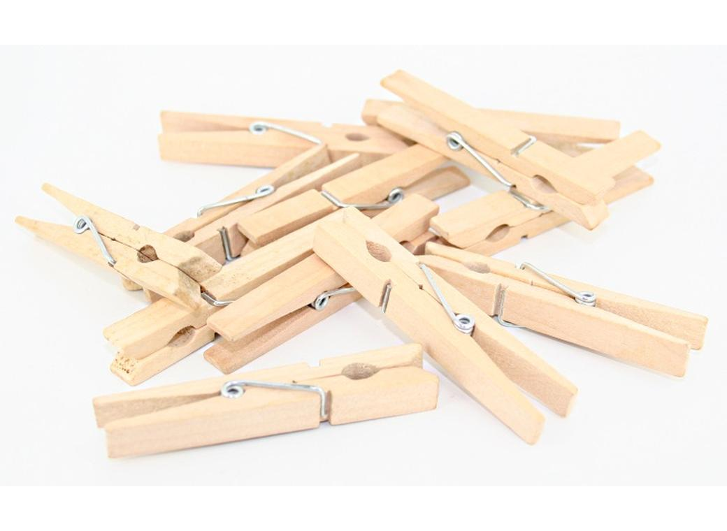 Large Wooden Pegs - Pack of 10