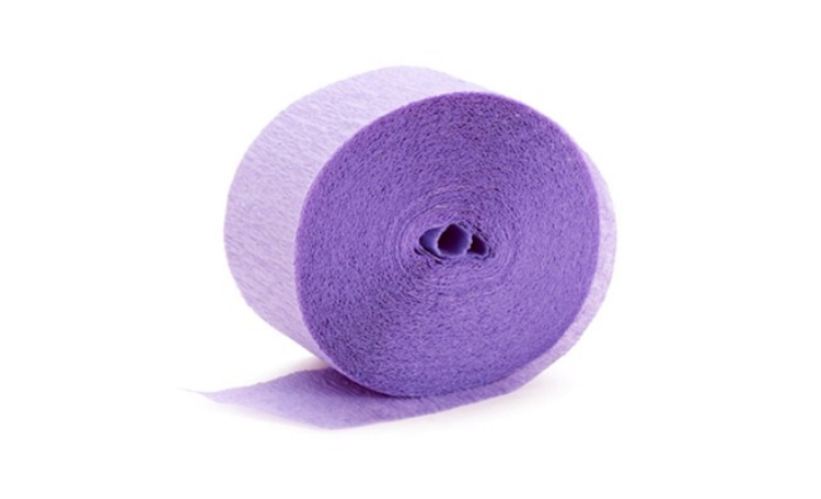 Crepe Paper Streamer - Lavender