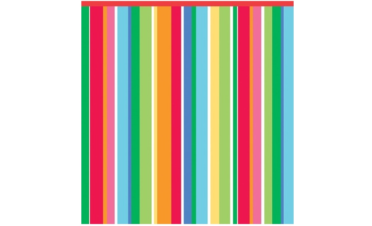 Rainbow Stripes Tablecover