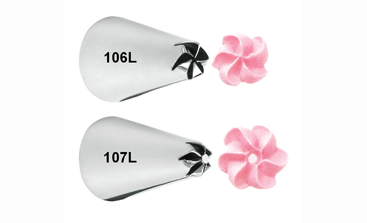Wilton Left Handed Drop Flower Tip Set